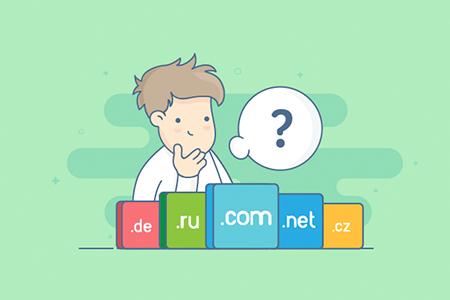 Выбор домена для сайта: ru или com-фото